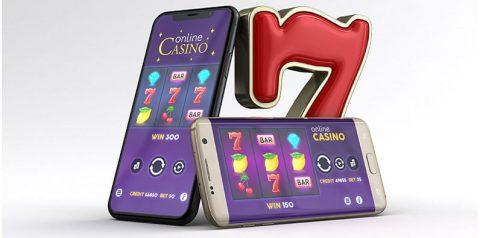 Distribusi permainan slot kasino di perangkat yang berbeda